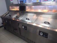 Fish and chip range 3 pan