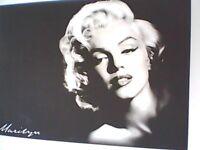 Huge Marilyn Monroe canvas