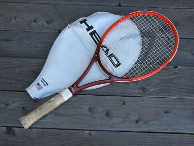 Head Club Pro Tennis Racquet 4 3/8 Grip Made in USA 1988 Vintage for sale  Shipping to Canada