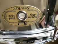Pearl Sensitone Steel Snare Drum 14 x 6.5