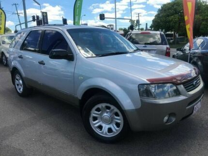 2005 Ford Territory SX TX Silver 4 Speed Sports Automatic Wagon Greenslopes Brisbane South West Preview