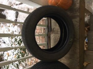 Set of 4 VW rims and tires 205/55/R16
