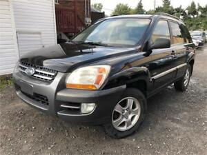 2007 Kia Sportage AWD (4X4) LUXE PACKAGE  CUIR / TOIT / MAGS !!!