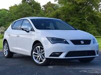 SEAT Leon 1.2 TSI SE (Tech Pack) 5dr (start/stop) (white) 2016