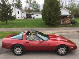 Corvette coupe 1986