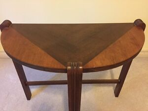 Antique casual end table