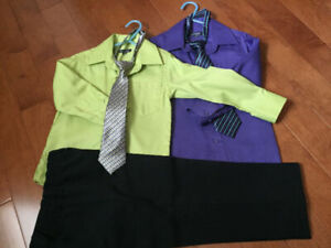 FOR BOYS TODDLER DRESS CLOTHES, SIZE 4, MINT