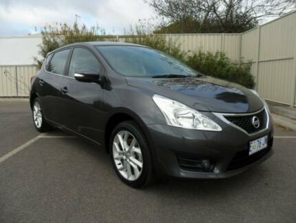 2013 Nissan Pulsar C12 ST-S Storm Grey 6 Speed Manual Hatchback Devonport Devonport Area Preview