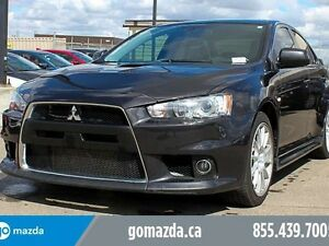 2014 Mitsubishi Lancer Evolution MR AWC 291 HP LEATHER BOLSTERS
