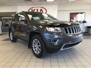 2016 Jeep Grand Cherokee Limited 4WD V6 sunroof, leather,