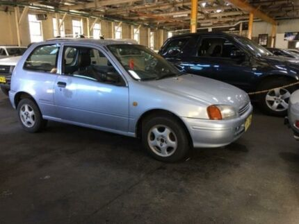 1998 Toyota Starlet EP91R Life Silver 5 Speed Manual Hatchback