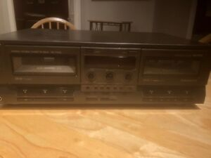 Technics Dual Cassette Player