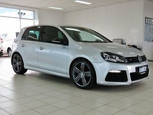 2011 Volkswagen Golf 1K MY11 R Reflex Silver 6 Speed Direct Shift Hatchback Morley Bayswater Area Preview