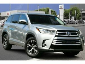 2017 Toyota Kluger GSU50R GX 2WD Silver 8 Speed Sports Automatic Wagon