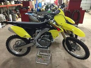 2015 SUZUKI RMZ 250 F MOTOCROSS BIKE  ** ONLY 3 HOURS **