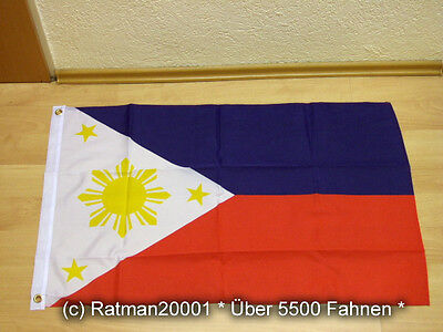 Fahnen Flagge Philippinen - 60 x 90 cm