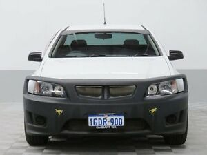 2009 Holden Commodore VE MY10 Omega White 4 Speed Automatic Utility East Rockingham Rockingham Area Preview