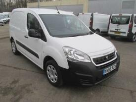Peugeot Partner L1 850 1.6 Bluehdi 100PS Professional Van [Non S/S] WHITE (2017)