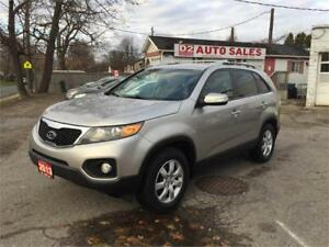 2013 Kia Sorento Accident Free/Bluetooth/4Cylinder/Certified