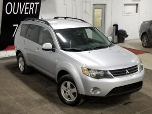 2008 Mitsubishi OUTLANDER LS**7 PLACES **4X4**JAMAIS ACCIDENTÉ**