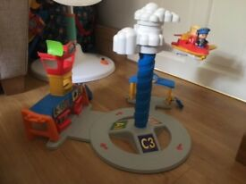 Fisher Price Little People Spinnin' Sounds Airport - Excellent Condition