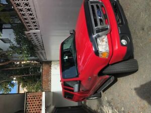 2010 Red Ford Ranger Sport XLT 4 x 4