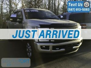 2017 Ford Super Duty F-350 SRW Platinum 4WD Crew  FULLY LOADED