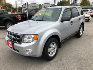 2011 Ford Escape XLT BLUETOOTH....ONLY 79,000 LOW KMS....MINT