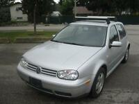 2002 Volkswagen Golf 2.0L Clean local car!