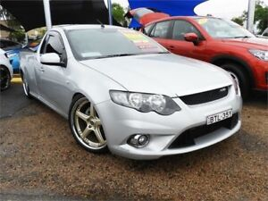 2010 Ford Falcon FG XR6 Super Cab Silver 6 Speed Sports Automatic Cab Chassis
