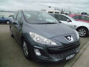 2009 Peugeot 308 T7 XSE Turbo Grey 4 Speed Sports Automatic Hatchback Cheltenham Kingston Area Preview