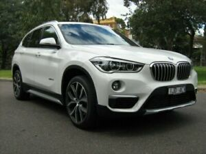 2015 BMW X1 F48 xDrive 25I White 8 Speed Automatic Wagon North Melbourne Melbourne City Preview