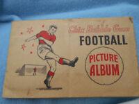 Footbal Album 1950's Chix Bubblegum Complete