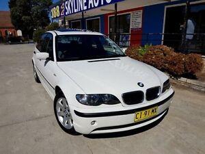 2003 BMW 318I E46 Executive Alpine White 5 Speed Automatic Sedan Silverwater Auburn Area Preview
