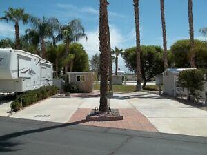 RV Lot Palm Springs, California