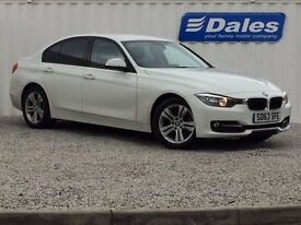 BMW 3 Series 318D 2.0 Sport 4dr (white) 2013