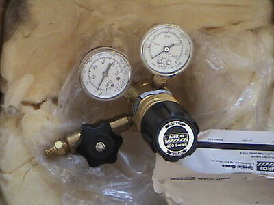 New Airco 400 Series Regulator With Gauges