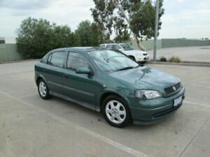 2000 Holden Astra TS CD Green 5 Speed Manual Hatchback Epping Whittlesea Area Preview
