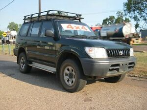 1998 Toyota Landcruiser Prado VZJ95R GXL Green 5 Speed 5 Sp Manual Sportswagon Holtze Litchfield Area Preview