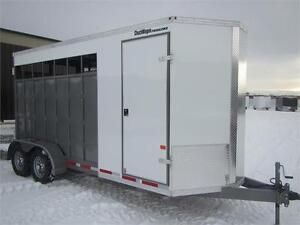 Chuch Wagon Trailers *** 2 Horse *** Straight Haul Open Concept