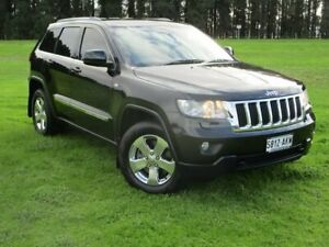 2010 Jeep Grand Cherokee WK MY2011 Laredo Black 5 Speed Sports Automatic Wagon Gepps Cross Port Adelaide Area Preview