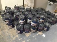 DULUX ENDURANCE 2.5 LITRE PAINT, ALL BRAND NEW AND UNOPENED, MANY VARIOUS COLOURS, BE QUICK PRICE!