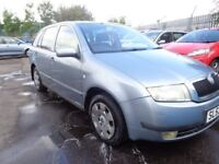 2004 53 reg skoda fabia comfort 1.9 diesel estate mot to 7/9/2018 good we cheap car £450