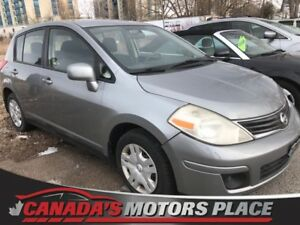 2011 Nissan Versa 1.8 S 1.8 S auto air, grey