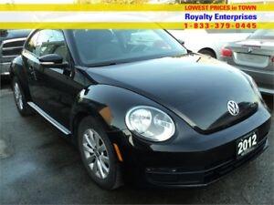 2012 Volkswagen Beetle Comfortline
