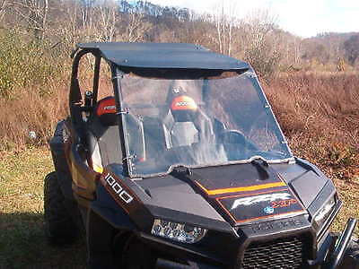 Polaris RZR 1000 XP,XP 4,XP1K Clear Full Windshield - 1/4 Thick Polycarbonate