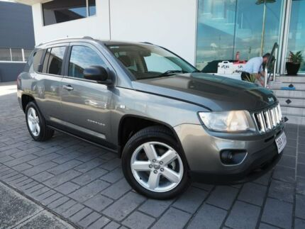 2011 Jeep Compass MK Limited CVT Auto Stick Grey 6 Speed Constant Variable Wagon Springwood Logan Area Preview