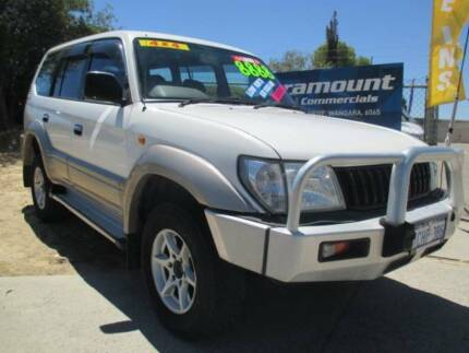 2002 TOYOTA PRADO GXL, AUTOMATIC, ONLY 217754KS, 7 SEATER Wangara Wanneroo Area Preview