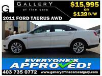 2011 Ford Taurus SEL AWD $139 bi-weekly APPLY NOW DRIVE NOW