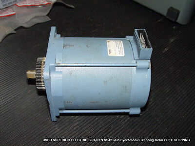 Used Superior Electric Slo-syn Ss421-g3 Synchronous Stepping Motor Free Shipping